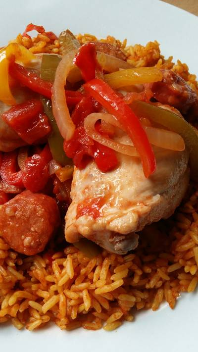 Vickys Spanish Chicken