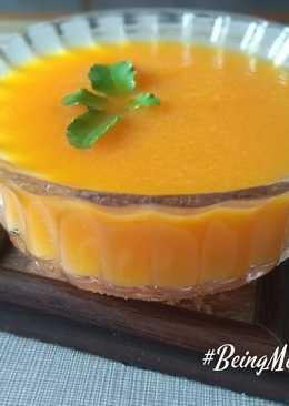 Carrot-onion soup