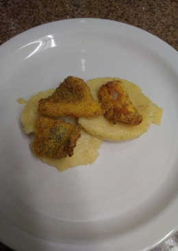 Air Fried Catfish with Grits
