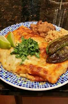 resep masakan brads crab and shrimp enchiladas