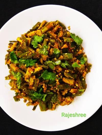 Masala Bhindi Sabzi
