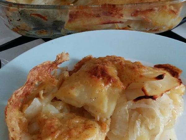 Vickys Scalloped Potatoes (No Milk) GF DF EF SF NF
