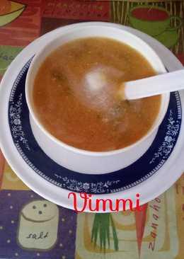 Moong dal & lauki soup (Healthy soup for patients)