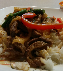 Panang Curry with Beef