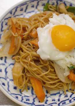 My Lazy Yakisoba (Japanese Stir fried noodle)