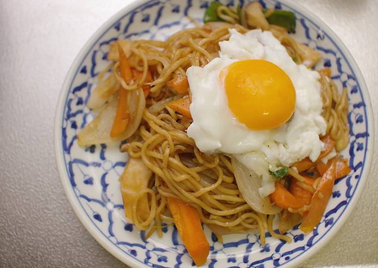My Lazy Yakisoba (Japanese Stir fried noodle)