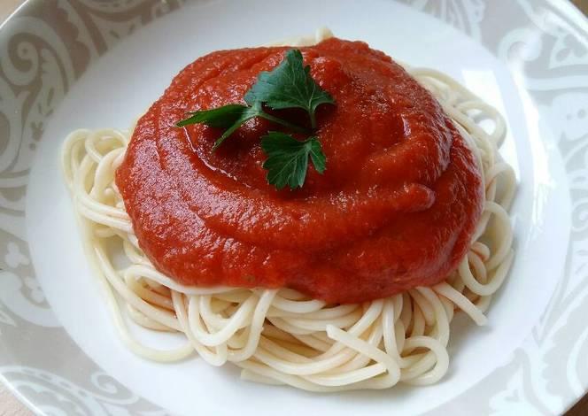 Resep Vickys Hidden Vegetable Pasta Sauce