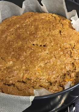 Carrot cake with no nuts or butter!!!