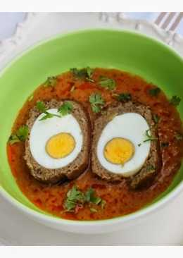 Nargisi Koftay - Pakistani Style Curried Scotch Eggs