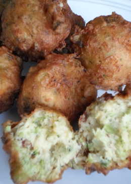 Broccoli, Bacon and Cheddar Bites