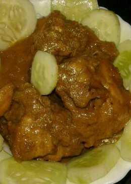 Chicken kasha.