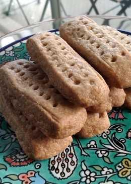 Healthy Shortbread Cookies