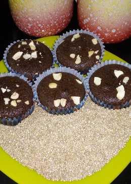 Quinoa Chocolate Cupcake Eggless