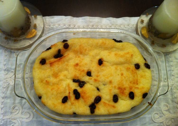 Bread - Raisins Pudding