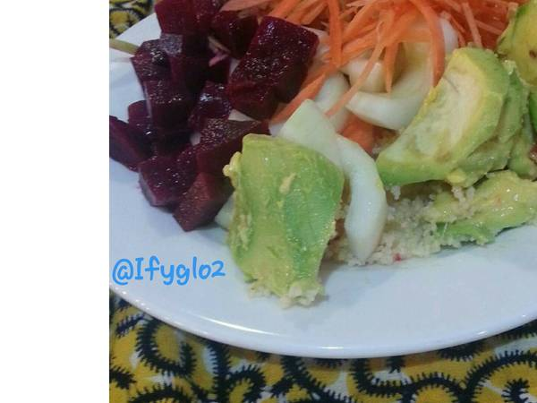 Beetroot with other vegetable