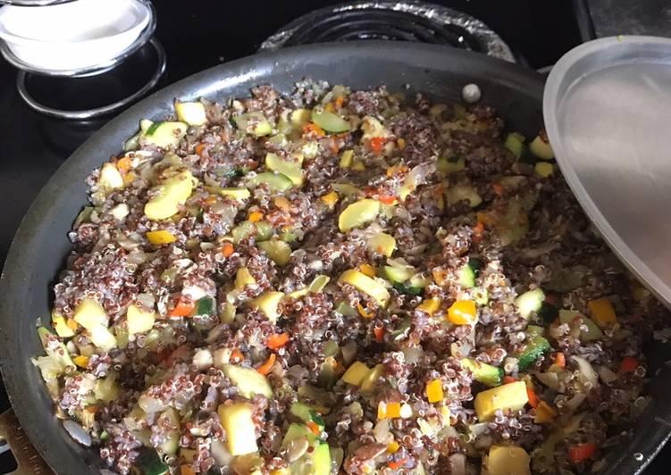 Alkaline - Vegetable Quinoa Recipe by eshivers - Cookpad India