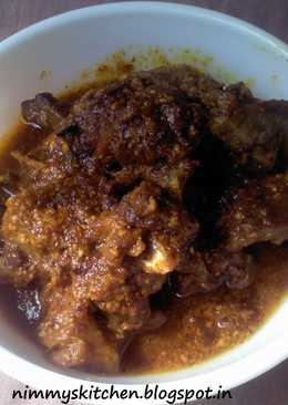 Tangy Spicy Mutton Curry