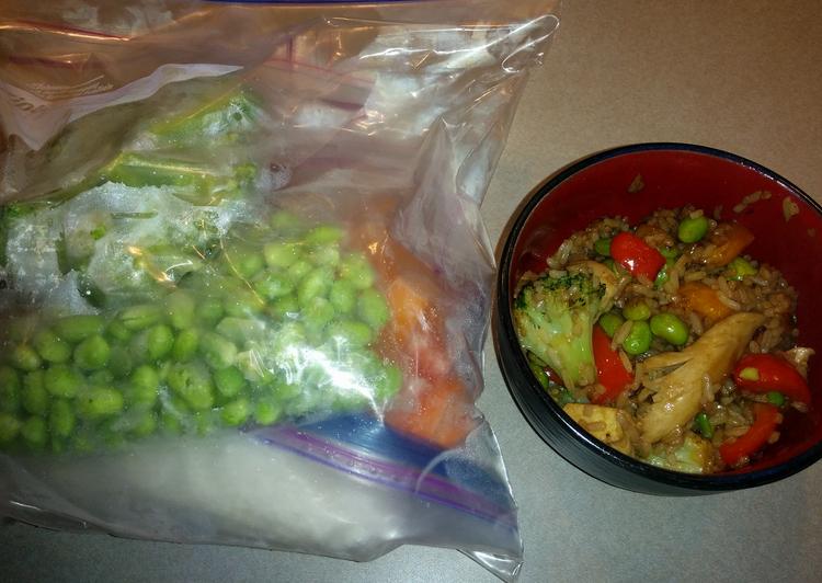 Chicken Stir Fry Freezer Meal