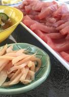 Quickled Gari (Pickled Sushi Ginger)