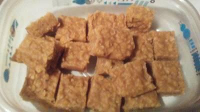 Peanut Butter Oatmeal Fudge