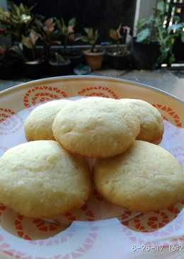 No-Mixer Milky Sugar Cookies