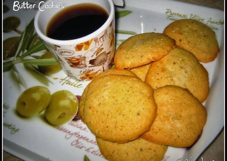 Black Pepper Butter Cookies