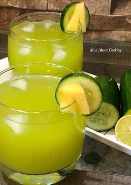 Cucumber Pineapple Lemonade – Summer Cooler