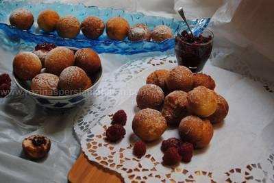 Ricotta donut balls
