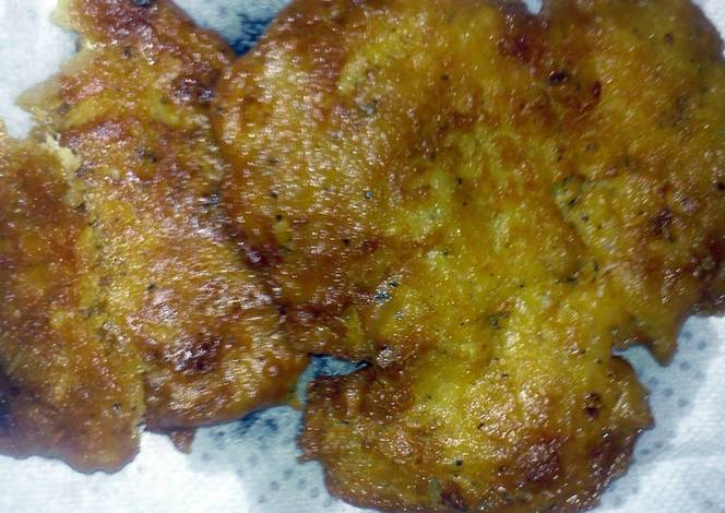 Bacalaitos cod fish fritters recipe by cocinaboriqua for Cod fish fritters