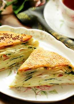 Layered Turkish Bread (Borek)