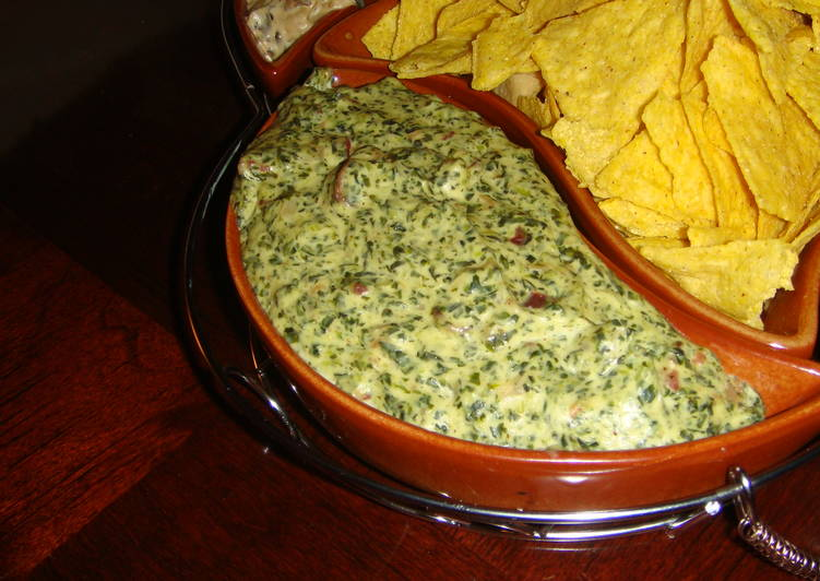 Spinach and bacon dip