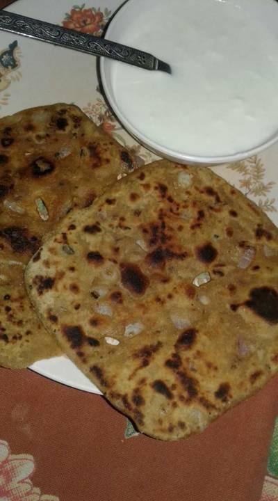 Daal wala parantha