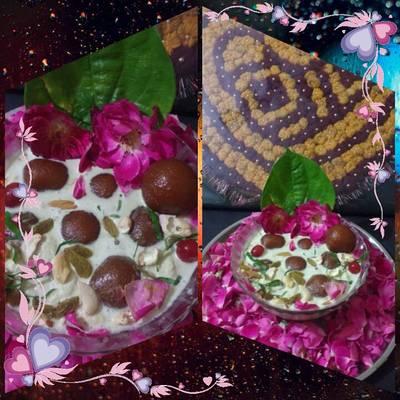 Paan Gulkand gulab jamun ice cream