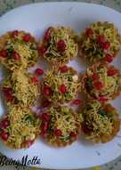 Green beans (chauli) chaat baskets
