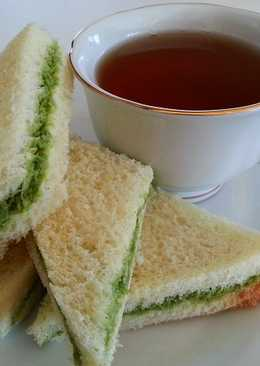 Coconut Coriander Chutney Sandwich
