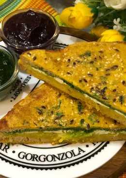 Non- Fried Bread Pakora – Holi Special