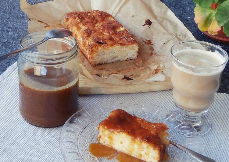 recipe: pear cake with caramel sauce [27]