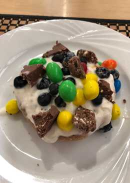 Reese's m&m muffin