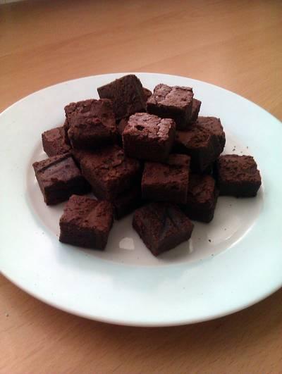 Vickys Hidden Avocado Brownies, GF DF EF SF NF