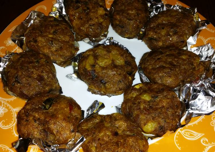 Baked fish cakes recipe by reshma venugopal cookpad for Baked fish cakes