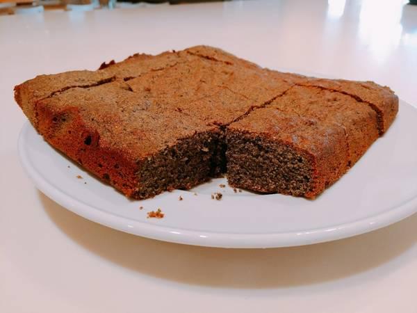 Japanese healthy sesame cake♪