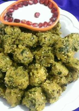 Lauki Spinach Muthiya