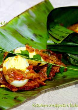 Mutta/Egg Pollichathu