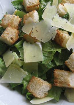 Caesar Salad with My Legendary Caesar Dressing