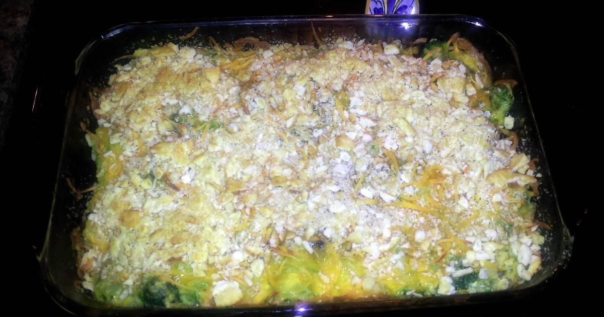 Ritz Crackers And Broccoli Casserole Recipes 21 Recipes Cookpad
