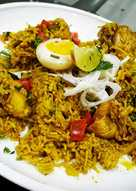 Spicy Chicken Curd Pulao