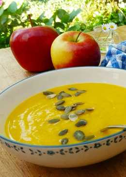 resep masakan pumpkin soup with apples
