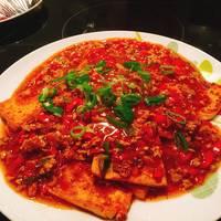 Stewed Crispy Tofu 红烧香煎豆腐