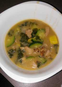 BgCtGal's Post Surgery Chicken Zucsqash Kale Soup