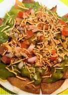 Leftover Roti Chatpata Masala Puri Chaat